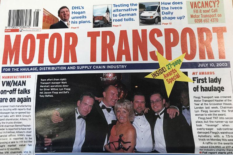 Motor Transport magazine feature