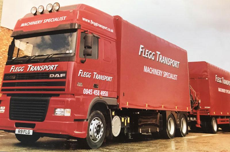 Flegg lorry