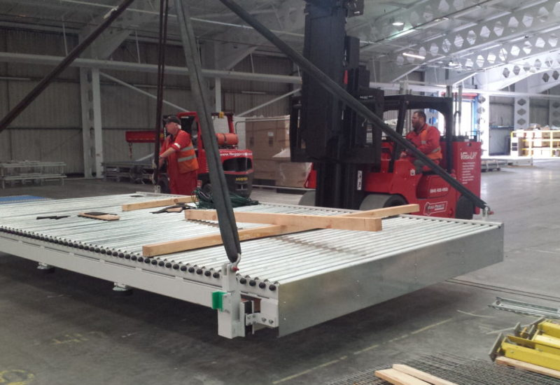 moving a large roller bank