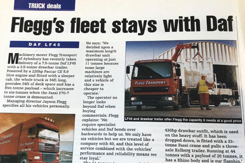 Truck magazine Daf