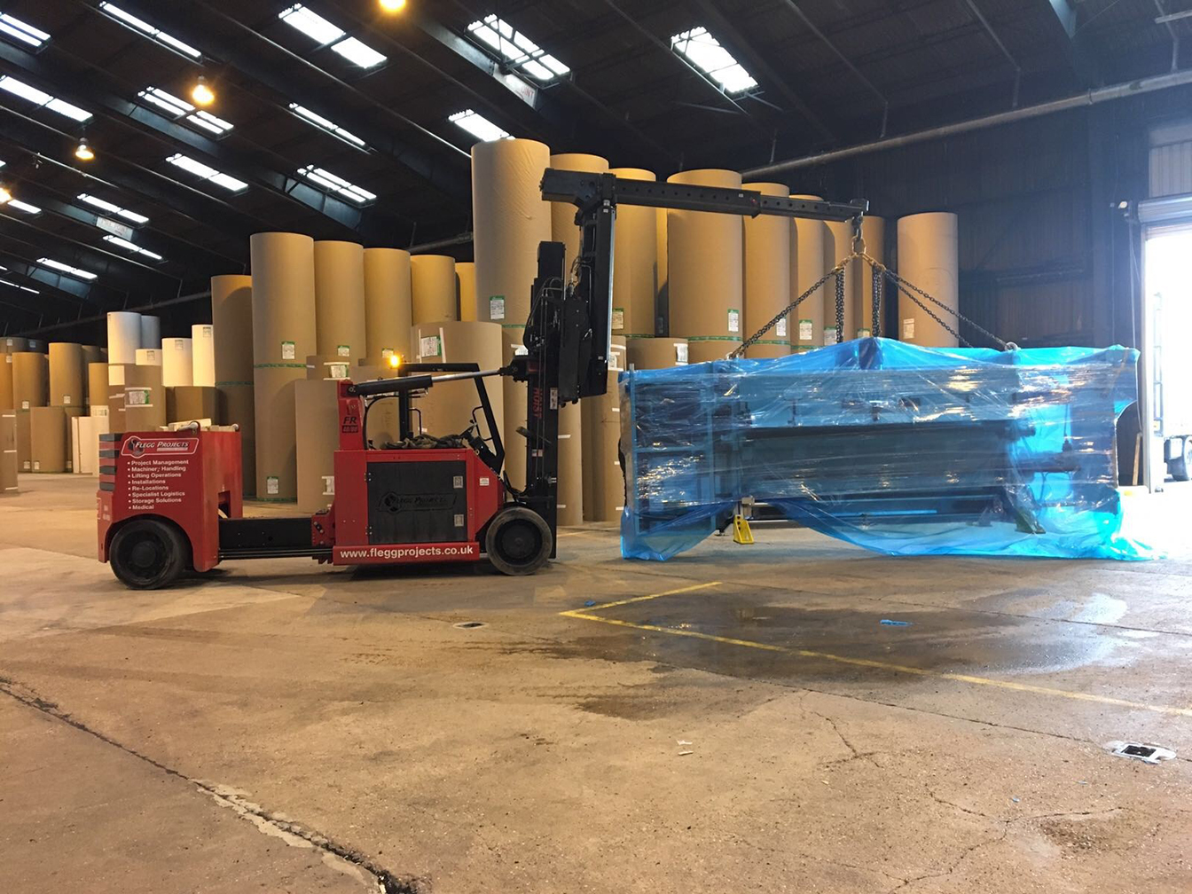 Hoist moving equipment
