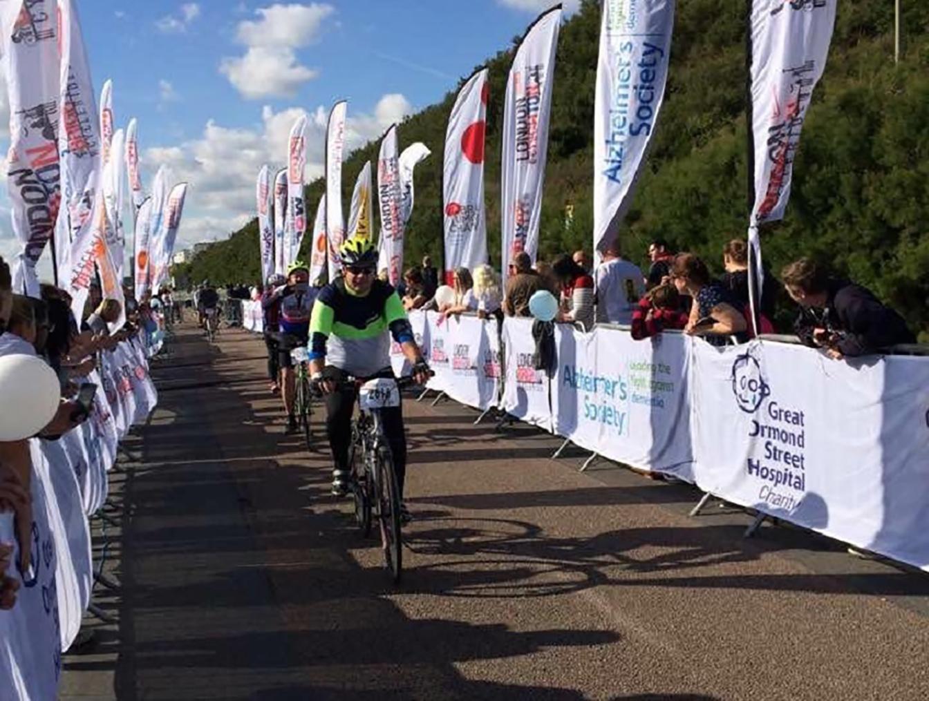 Bikes race