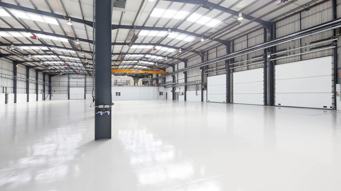 Flegg New Warehouse Cover
