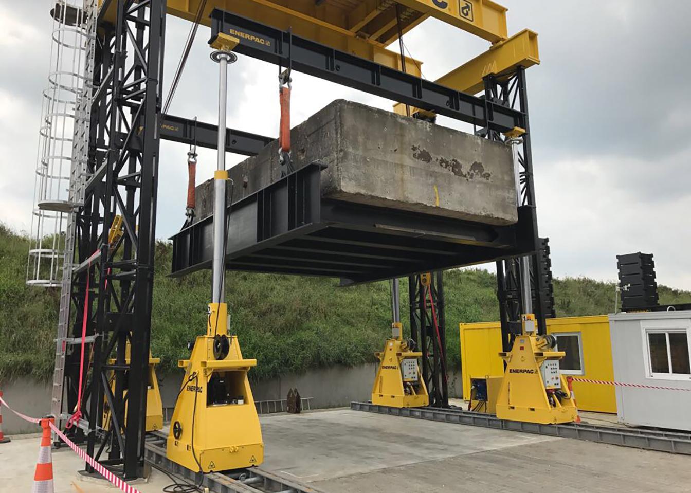 Hydraulic Lift Project : Increasing hydraulic lift capacity to tons flegg