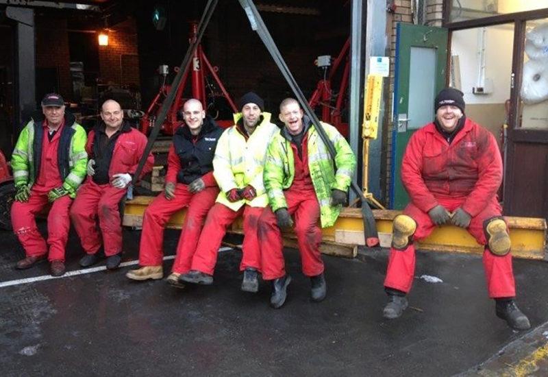Flegg Machinery Moving Employees