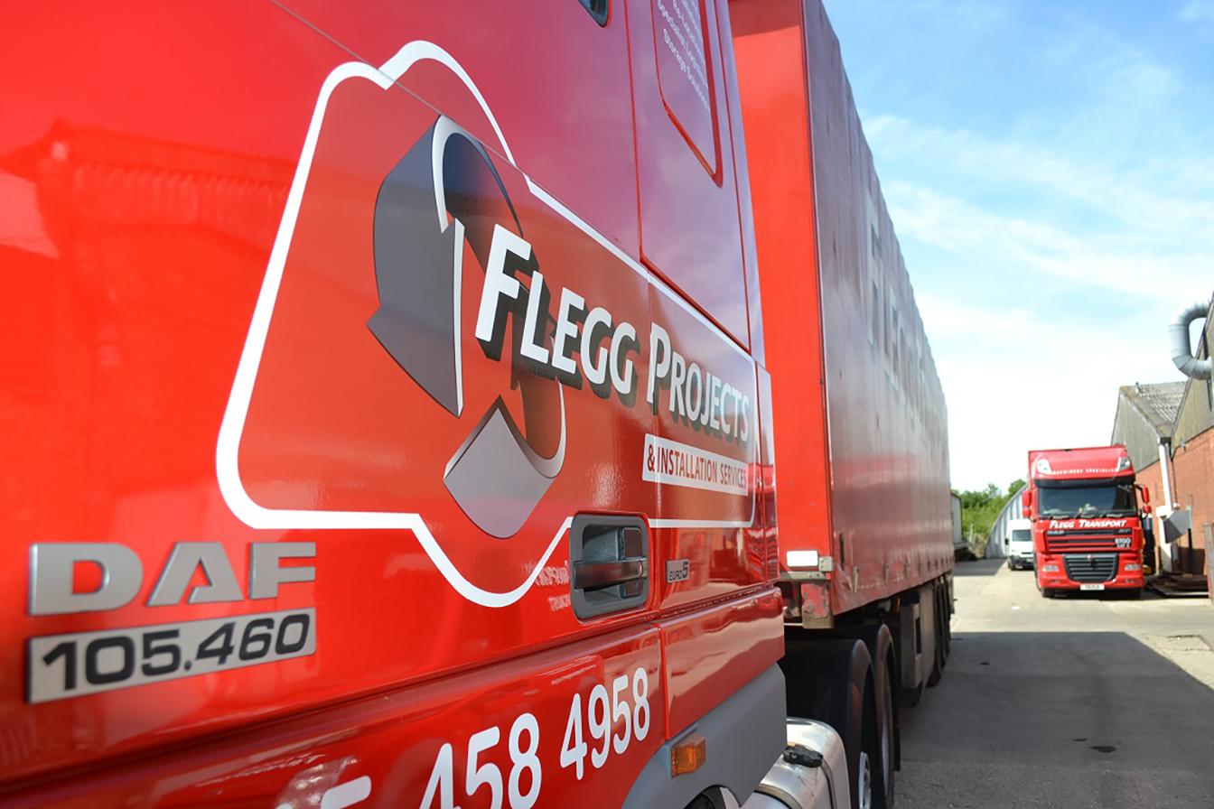 New lorry
