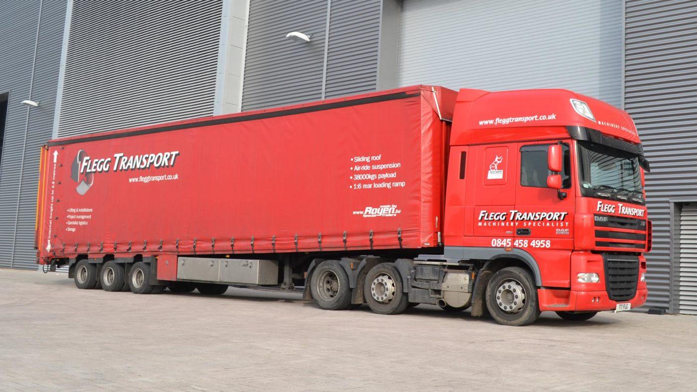 Flegg Projects Logistics Lorry