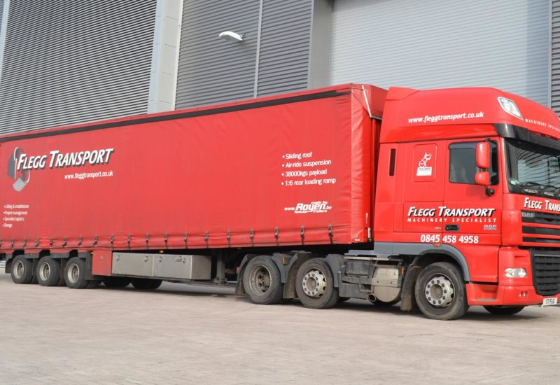 Flegg Projects Logistics Lorry