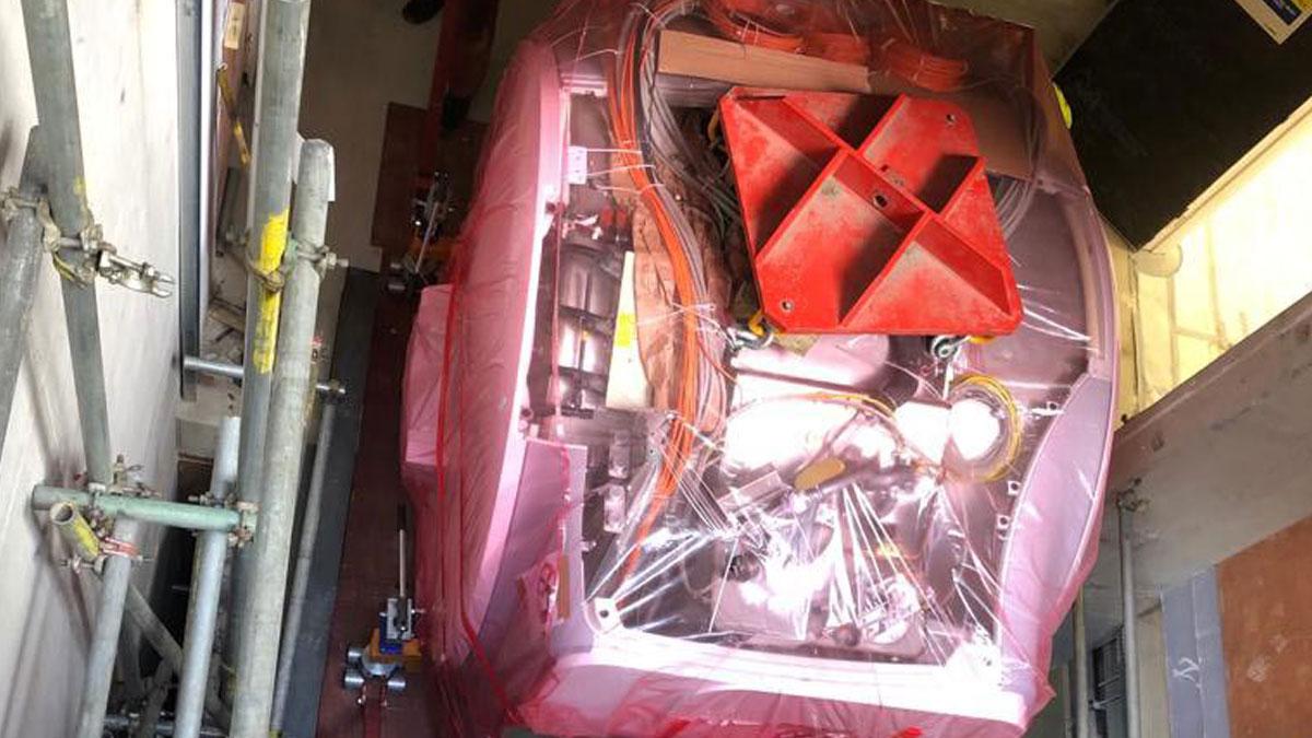 Medical Equipment Transportation MRI System