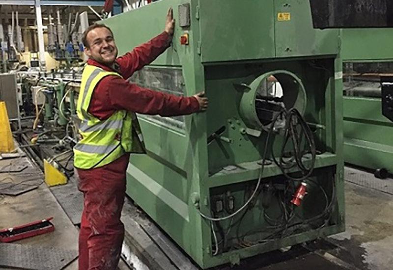 Employee moving equipment